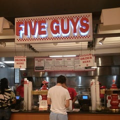 Photo taken at Five Guys by Khalid S. on 6/17/2013