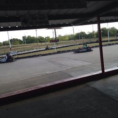 Photo taken at Rockwood Go-Karts by Melanie J. on 8/1/2014