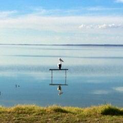 Photo taken at Lake Albert Caravan Park by Craig F. on 3/30/2014
