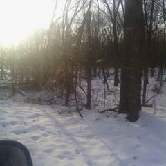 Photo taken at Walnut Woods State Park by Nick P. on 1/6/2014