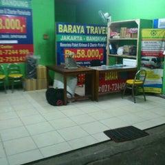 Photo taken at Baraya Travel Lenteng Agung by Rio p. on 11/24/2012
