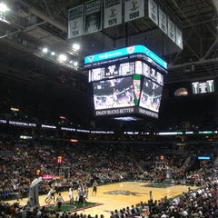 Photo taken at BMO Harris Bradley Center by Hassen K. on 1/3/2013