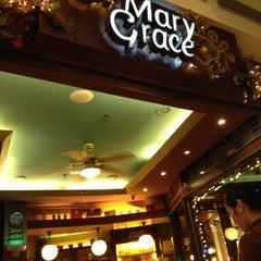 Photo taken at Café Mary Grace by geraldo z. on 10/1/2012
