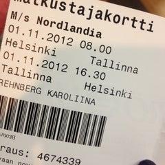 Photo taken at M/S Nordlandia by Karoliina R. on 11/1/2012
