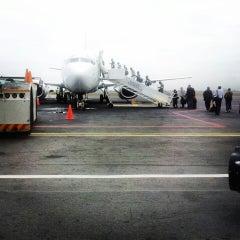 Photo taken at Aeroporto Internacional de Maputo by Nuno S. on 7/10/2013