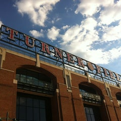 Photo taken at Turner Field by Chris S. on 6/14/2013