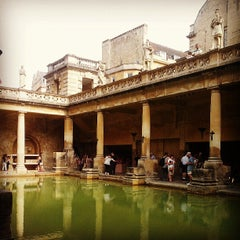 Photo taken at The Roman Baths by Aaron on 7/22/2013