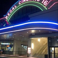 Photo taken at Regal Cinemas Atlantic Station 18 IMAX & RPX by Fatima Al Slail on 10/27/2012