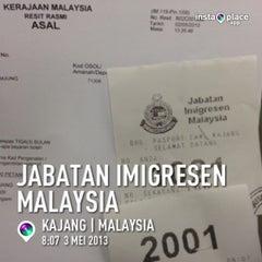 Photo taken at Jabatan Imigresen Malaysia (Immigration Department of Malaysia) by CikLily P. on 5/3/2013