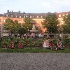 Photo taken at Gärtnerplatz by Ksenia L. on 7/18/2013