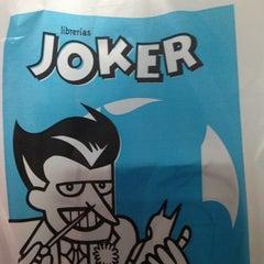 Photo taken at Joker Cómics by Mónica C. on 8/22/2013