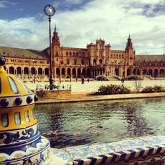 Photo taken at Sevilla by Matthieu D. on 2/2/2013
