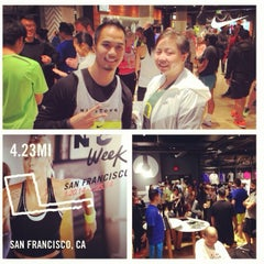 Photo taken at Niketown SF Run Club by Dennis C. on 1/23/2014