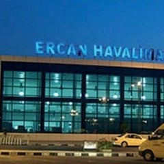 Photo taken at Ercan Havalimanı | Ercan Airport by Mustafa B. on 3/31/2013