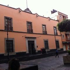 Photo taken at Antigua Sede del Senado de la República by Karina Á. on 8/27/2013