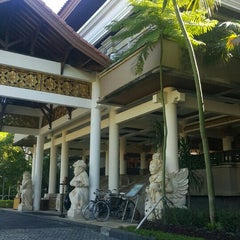 Photo taken at Grand Aston Bali Beach Resort by Fahad A. on 3/19/2016