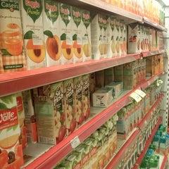 Photo taken at Supermercado Zona Sul by Alan S. on 2/25/2013