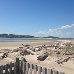 Photo taken at Sandy Point Plum Island Reservation by Karolina S. on 5/18/2014