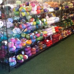 Photo taken at Showers of Flowers Yarn Shop by Angela G. on 3/5/2014