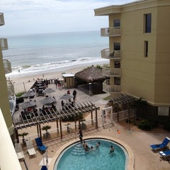 Photo taken at Crowne Plaza Melbourne-Oceanfront by Tracy on 6/8/2013
