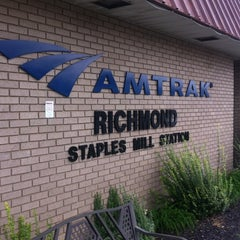 Photo taken at Richmond Amtrak Station (RVR) by Bonnie P. on 9/16/2012
