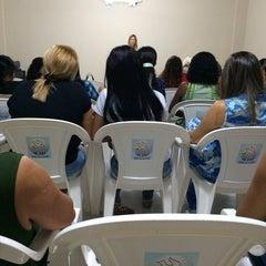 Photo taken at Igreja Mensagem De Paz by Tatiana M. on 2/4/2014