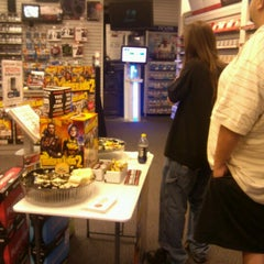 Photo taken at GameStop by Kendra M. on 9/18/2012