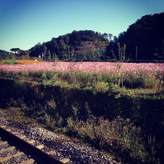 Photo taken at 파주역 (Paju Stn.) by Amy S. on 10/2/2013
