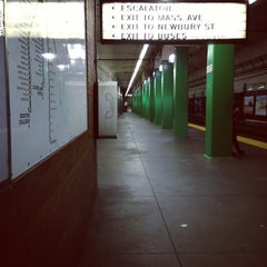 Photo taken at MBTA Hynes Convention Center Station by Lou P. on 9/30/2012
