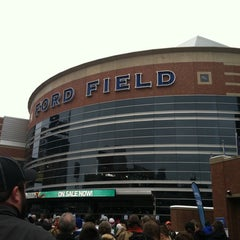Photo taken at Ford Field by Beckie T. on 12/30/2012