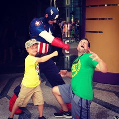 Photo taken at Captain America Diner by Ethan J. on 6/24/2014