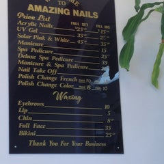 Photo taken at Amazing Nails by Anna H. on 2/18/2013