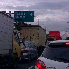 Photo taken at Jalan Tol Lingkar Luar Jakarta Seksi W1 (JORR W1) by Adri P. on 2/2/2013