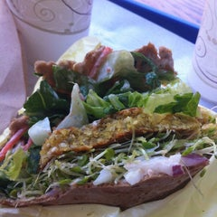 Photo taken at Sunflower Natural Foods Drive-In by Christi C. on 9/15/2012