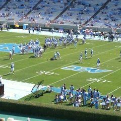 Photo taken at Kenan Memorial Stadium by Marietta W. on 9/22/2012