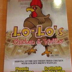 Photo taken at Lo-Lo's Chicken & Waffles by DJ LS One on 11/16/2012