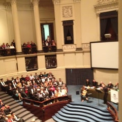 Photo taken at Aula Academica, UGent by Sylvie V. on 9/21/2012