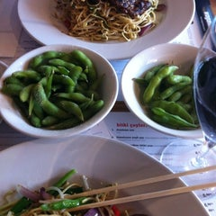 Photo taken at Wagamama by Ozgur H. on 11/22/2012
