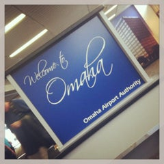 Photo taken at Omaha Eppley Airfield (OMA) by Remi T. on 5/19/2013
