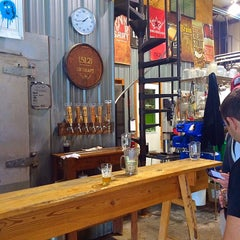 Photo taken at (512) Brewing Company by Julia G. on 10/11/2014