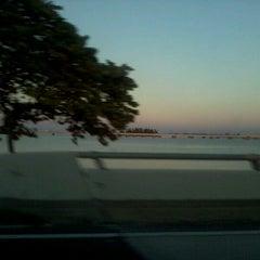 Photo taken at Caloosahatchee Bridge by Ryan M. on 1/26/2013