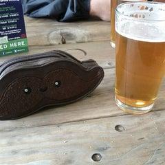 Photo taken at Oakshire Brewing by Elizabeth V. on 3/23/2013