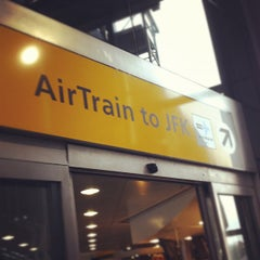 Photo taken at JFK AirTrain - Jamaica Station by Adam F. on 9/27/2012