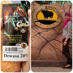 Photo taken at Zoo Taiping & Night Safari by 💋Meyhmae L. on 6/7/2013