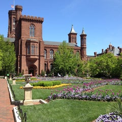 Photo taken at Smithsonian Institution Building (The Castle) by Igor K. on 4/21/2013