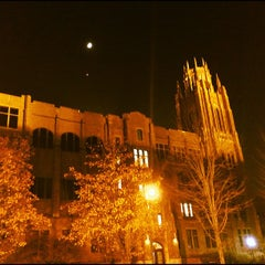 Photo taken at Marquette Hall by Chris C. on 11/21/2012