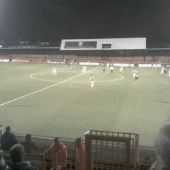 Photo taken at Underhill Stadium by Andrew J. on 12/6/2012