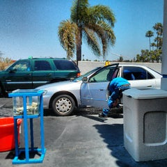 Photo taken at National City Car Wash by Russel S. on 6/15/2013