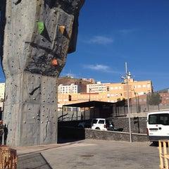 Photo taken at Rocódromo Municipal de Ofra by Lily Z. on 10/22/2013