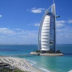 Photo taken at Burj Al Arab by Jonathan T. on 10/12/2012